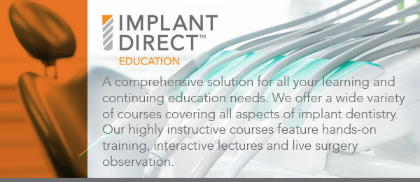 Implant Direct Education graphic