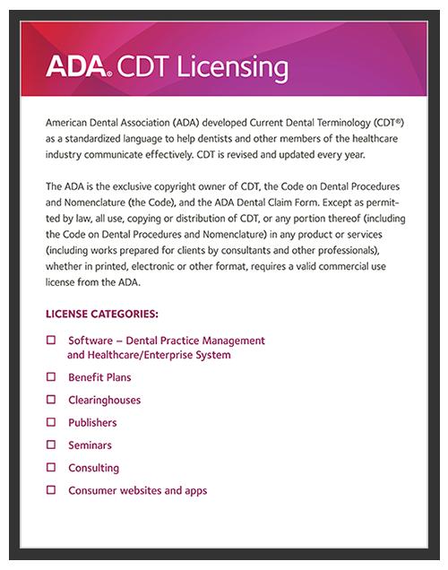 CDT Licensing