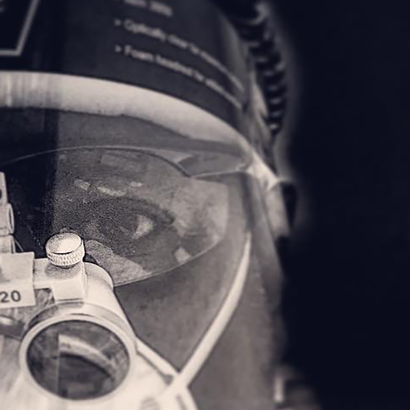 Portrait of dentist in PPE