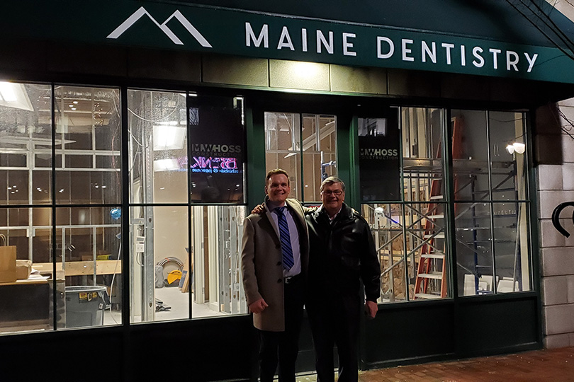 Maine Dentistry before image
